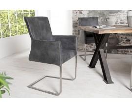 Štýlová moderná stolička Samson sivá