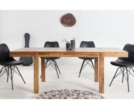 Štýlový masívny jedálenský stôl Massive 120-200cm rozkladací