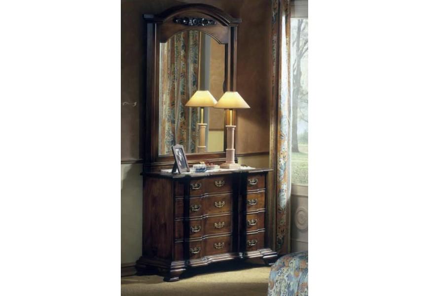 Rustikálna luxusná komoda Nuevas formas so štyrmi zásuvkami