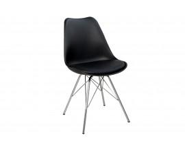 Retro stolička Scandinavia čierna