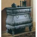 Luxusná rustikálna komoda Nuevas formas z  dreva s vyrezávanými ornamentami