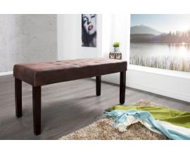 Luxusná elegantná lavica Cambrige 90cm hnedá