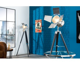 Dizajnová moderná stolná lampa Hollywood 65 cm čierna