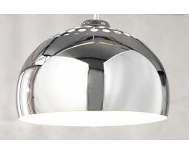 Moderné dizajnové závesné svietidlo Chrome Ball