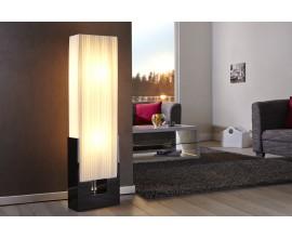 Luxusná jedinečná stojaca lampa Liana biela