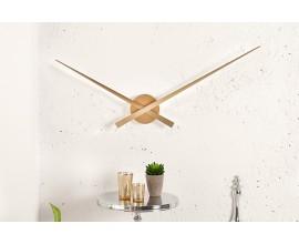Dizajnové minimalistické nástenné hodiny Little Big Time Ø 80cm