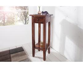 Originálny Telefónny stolík Hemingway antická hnedá