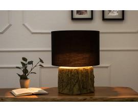 Dizajnová originálna stolná lampa Tara 40cm čierna