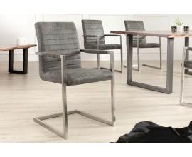 Dizajnová prešívaná stolička Imperial