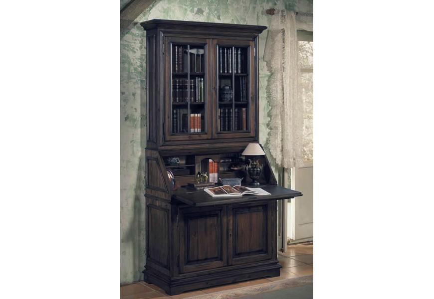 Luxusná komoda so sekretárom Nuevas formas v rustikálnom štýle