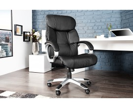 Luxusná kancelárská stolička Strong XXL čierna