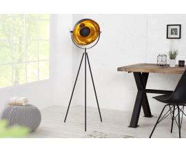 Dizajnová originálna stojaca lampa Studio 140cm zlatá