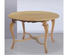 Rustikálny okrúhly jedálenský stôl rozkladací  Nuevas formas 165cm