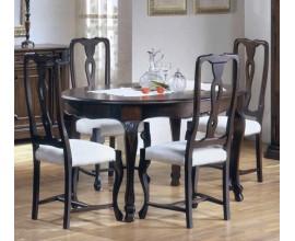 Rustikálny rozkladací okrúhly jedálenský stôl Nuevas formas 178cm