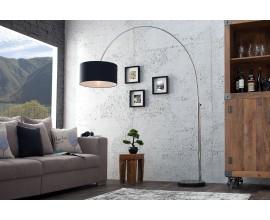 Luxusná štýlová stojaca lampa Big Bow čierno - zlatá
