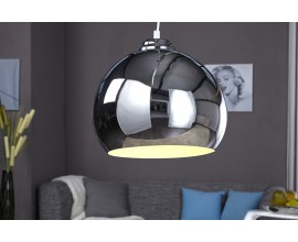 Moderné dizajnové závesné svietidlo Chromagon