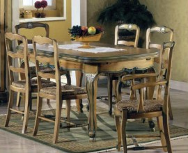Rustikálny jedálenský stôl Nuevas formas rozkladací 280cm