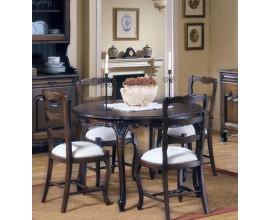 Okrúhly jedálenský stôl rozkladací (roz.155cm) Nuevas formas