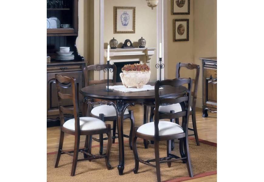 Rustikálny jedálenský stôl Nuevas formas rozkladací 155cm