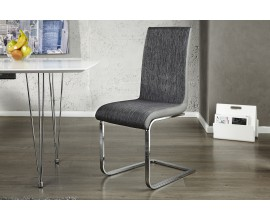 Luxusná moderná stolička Metropolis II. čierna