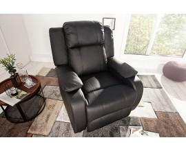 Štýlové relaxačné kreslo Hollywood čierna