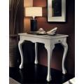 Exkluzívny vyrezávaný telefónny stolík Nuevas formas v rustikálnom štýle