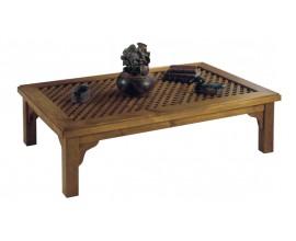 Koloniálny konferenčný stolík Nuevas formas z dreva 140cm