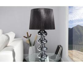 Luxusná moderná stolná lampa Mia čierna