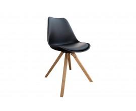 Štýlová retro stolička Scandinavia čierna