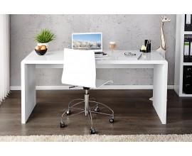Moderný dizajnový kancelársky písací stôl Trade 120cm biely