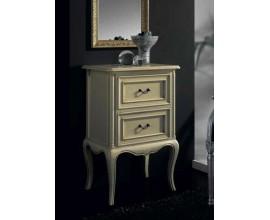 Rustikálny elegantný nočný stolík Nuevas formas s vyrezávanými nožičkami 60cm