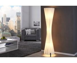 Luxusná moderná stojaca lampa Helix L 160cm biela