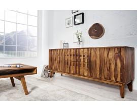 Luxusný Retro príborník Sheesham z masívného dreva