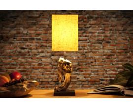 Štýlová stolná lampa Hypnotic 45cm béžová