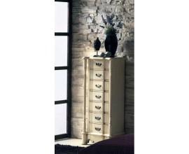 Rustikálna vysoká komoda Nuevas formas so siedmymi zásuvkami 125cm