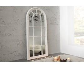 Dizajnové exkluzívne nástenné zrkadlo Castillo 140cm sivá