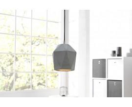 Štýlová závesná lampa Cement Prisma