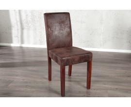 Štýlová stolička Genua coffee Vintage Look