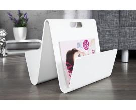 Moderný jedinečný košík na odkladanie magazínov Cassie