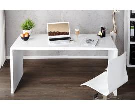 Moderný dizajnový kancelárský stôl Fast Trade biely