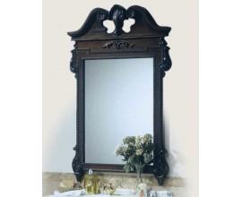 Rustikálne luxusné vyrezávané obdĺžnikové zrkadlo Nuevas formas v exkluzívnom hrubom ráme 130cm