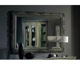Rustikálne exkluzívne nástenné obdĺžnikové zrkadlo Nuevas formas v masívnom ráme 163cm