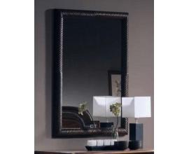 Rustikálne exkluzívne nástenné obdĺžnikové zrkadlo Nuevas formas v nadčasovom masívnom ráme 110cm