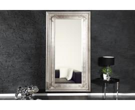Luxusné zrkadlo Renaissance strieborné 180cm