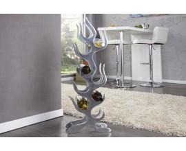 Luxusný moderný stojan na vínové fľaše Flammen L
