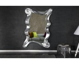 Dizajnové nástenné zrkadlo Alice strieborné 160cm