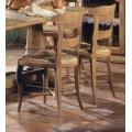 Rustikálna štýlová stolička Nuevas formas z masívu 86cm