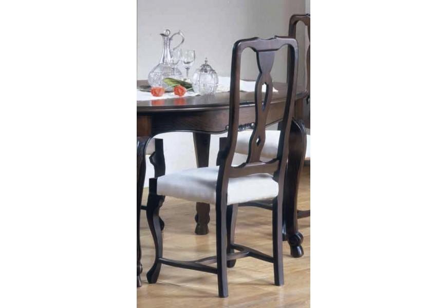 Luxusná jedálenská stolička Nuevas formas v rustikálnom štýle z masívu