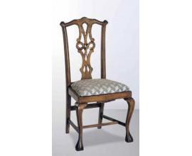 Rustikálna jedálenská stolička Nuevas formas z masívneho dreva 102cm