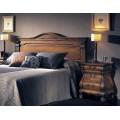 Klasické drevené zadné čelo postele Nuevas formas 168cm